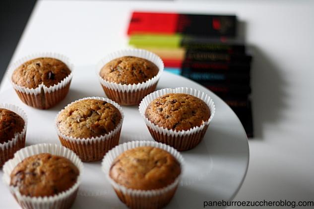 Muffin ciocco amarena