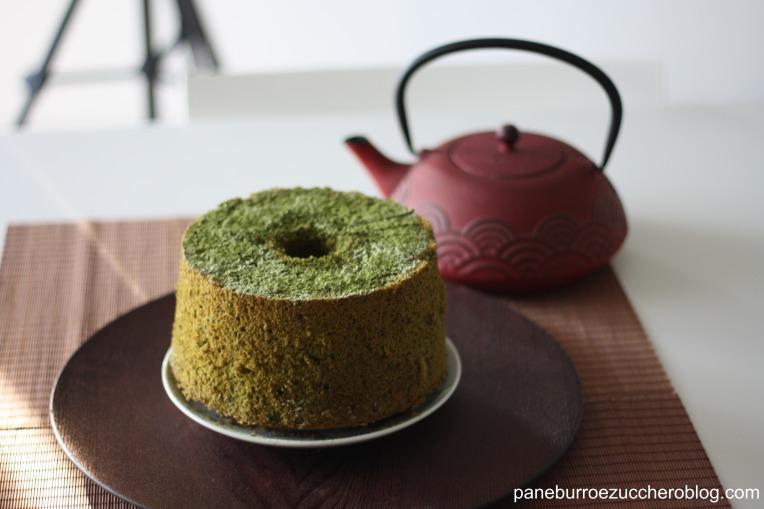 chiffon-cake-matcha