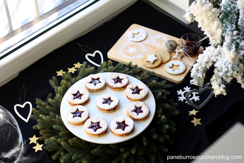 linzer cookies 6